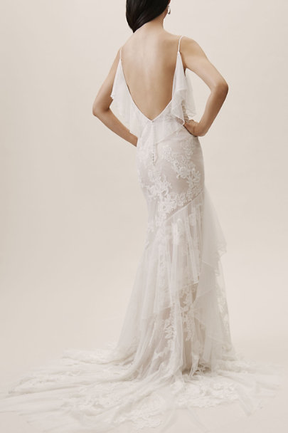 Willowby by Watters Ivory/Blush Raleigh Gown | BHLDN