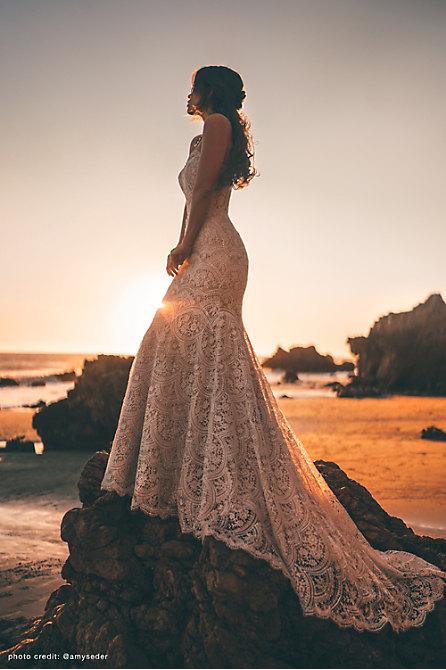 Wtoo by Watters Felton Gown