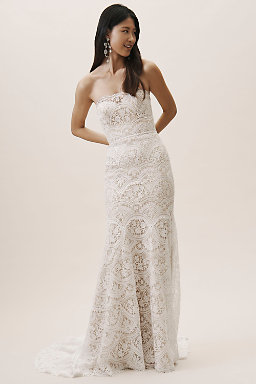 d420ac8e1bbd Lace Wedding Dresses & Beaded Wedding Gowns | BHLDN