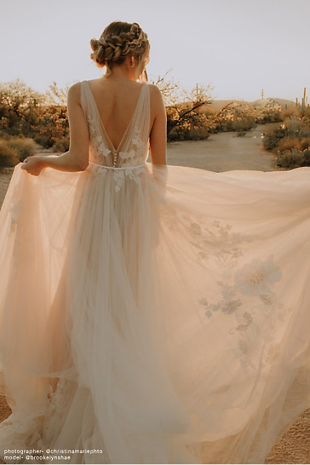 Willowby by Watters Ricarda Gown