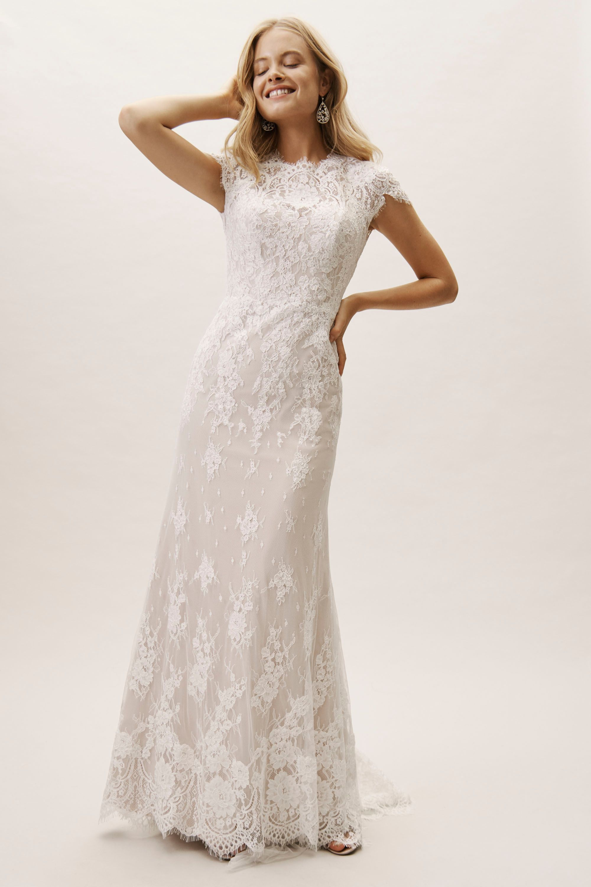 f77720ee47b6f BHLDN's Wtoo by Watters Sandrine Gown in Ivory/Blush