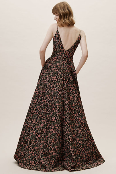 ML Event Jet Multi Gretel Jacquard Dress | BHLDN