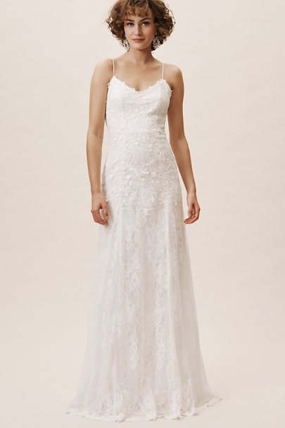 Heartloom Ivory Amory Gown | BHLDN