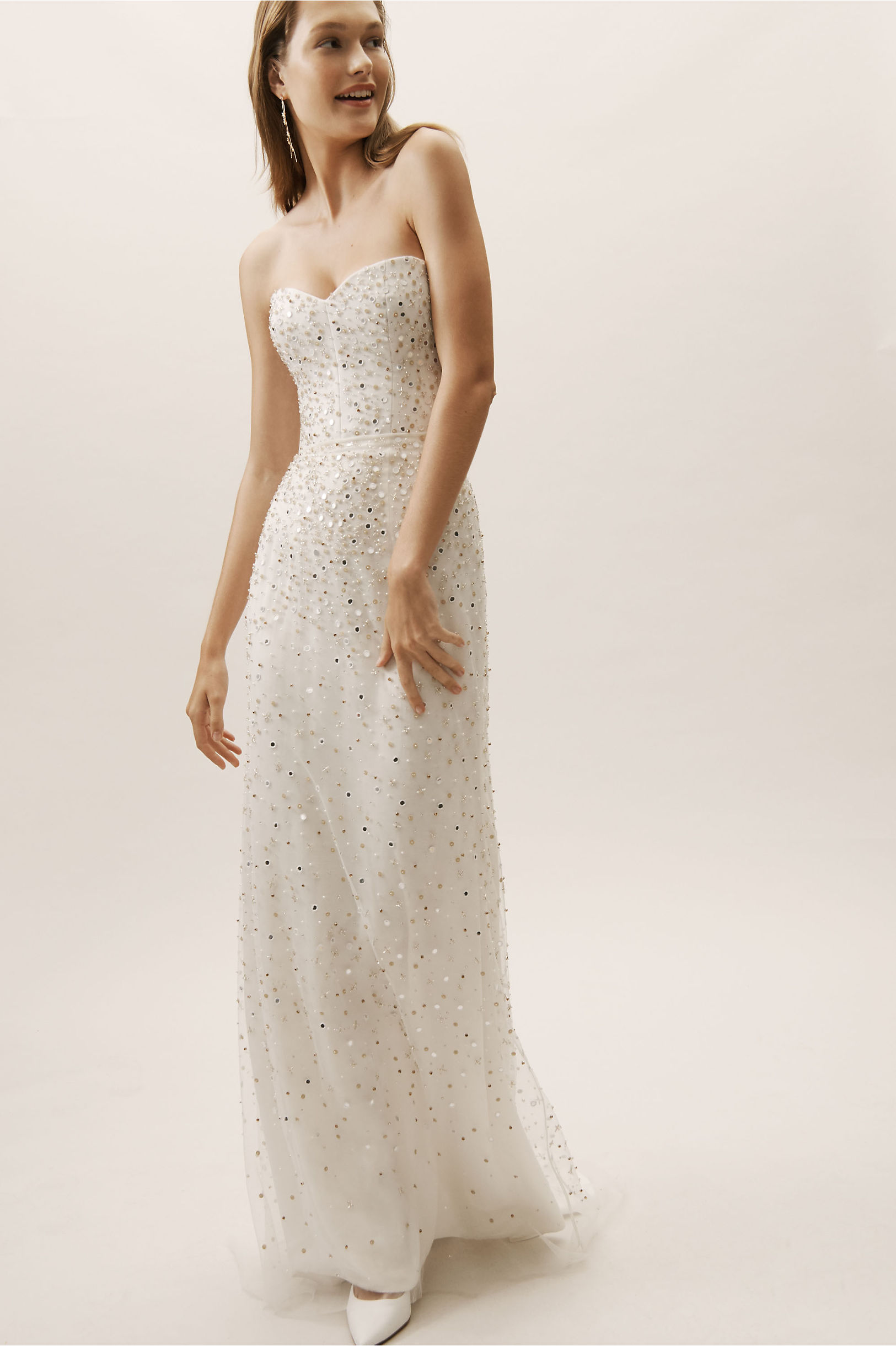 Houston Gown Ivory in Bride | BHLDN