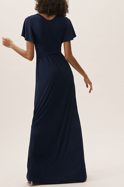 BHLDN Navy Mendoza Dress | BHLDN