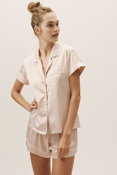 0f45b6ebbcd Short Piped Pajama Set Rose in Sale