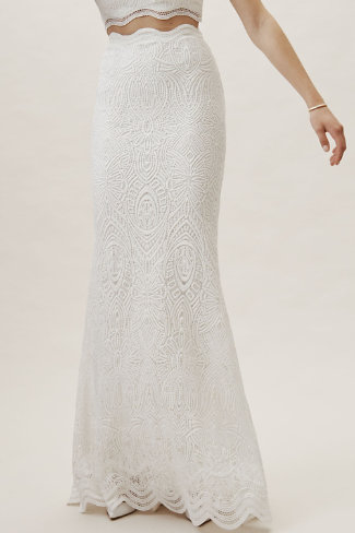 9abb7040567f75 Campbell Top   Campbell Skirt in Bride