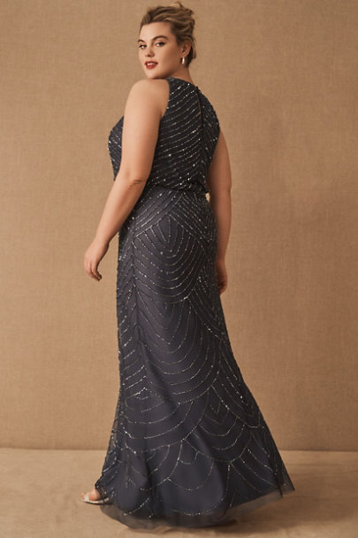 View larger image of Madigan Beaded Tulle Dress
