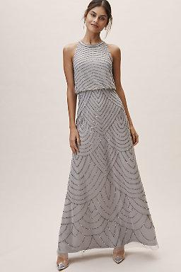 Madigan Dress Silver.