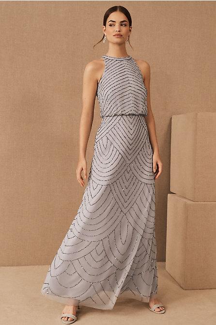 Madigan Beaded Tulle Dress
