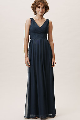 Lace Bridesmaid Dresses Long   Long Bridesmaid Dresses Gowns Bhldn