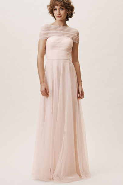 Jenny Yoo Soft Blush Ryder Dress | BHLDN