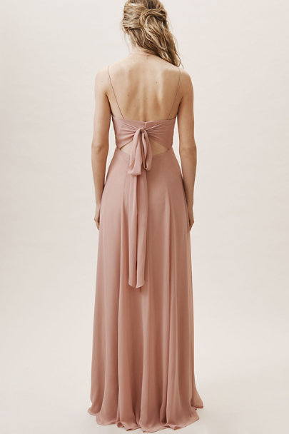Jenny Yoo Whipped Apricot Kiara Dress | BHLDN