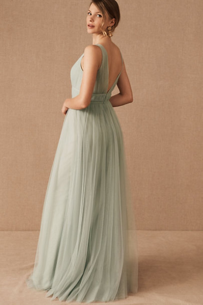 Jenny Yoo Morning Mist Sarita Dress | BHLDN