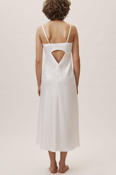 Rya Collection Ivory Heavenly Long Chemise | BHLDN