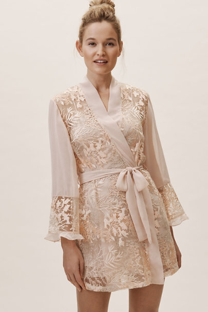 Rya Collection Pink From The Heart Robe | BHLDN