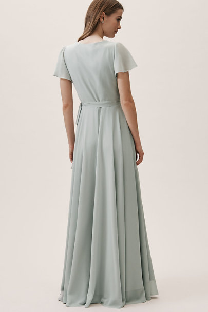 BHLDN Morning Mist Oralee Dress | BHLDN
