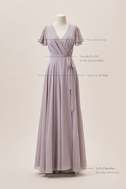 BHLDN Lilac Oralee Dress | BHLDN