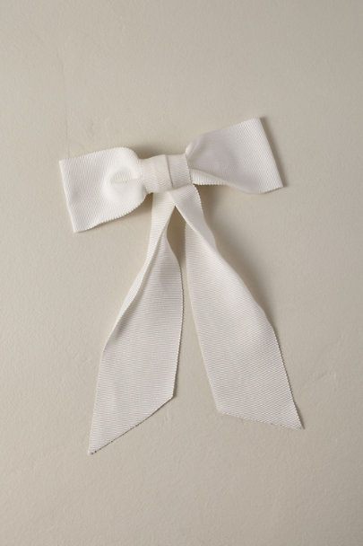Jennifer Behr White Berdina Bow | BHLDN