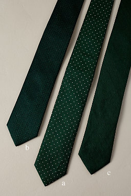 Tie Bar Hunter Green Collection