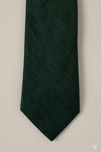 Tie Bar Green Tie Bar Hunter Green Collection | BHLDN