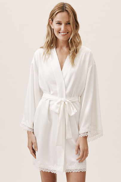 Flora Nikrooz Ivory Othela Robe | BHLDN