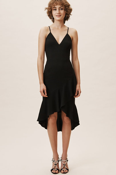 Dress the Population Black Connelly Dress | BHLDN