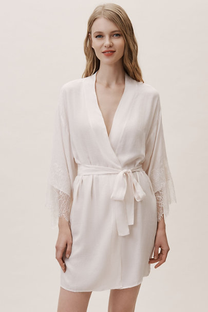 Flora Nikrooz Neutral Aliza Robe | BHLDN