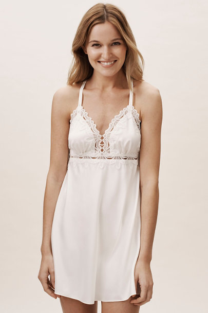 Flora Nikrooz Ivory Othela Chemise | BHLDN