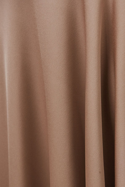 Fame and Partners Dark Tan Watkins Dress | BHLDN