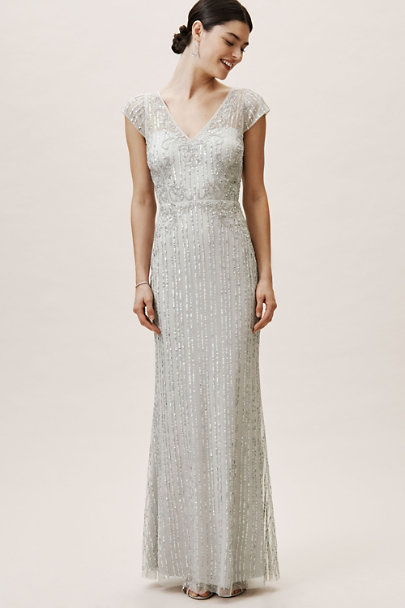 BHLDN Morning Mist Calais Dress | BHLDN
