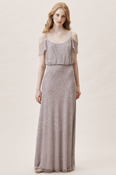 BHLDN Lilac Troye Dress | BHLDN
