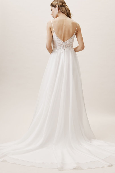Whispers & Echoes Ivory Cairo Gown | BHLDN