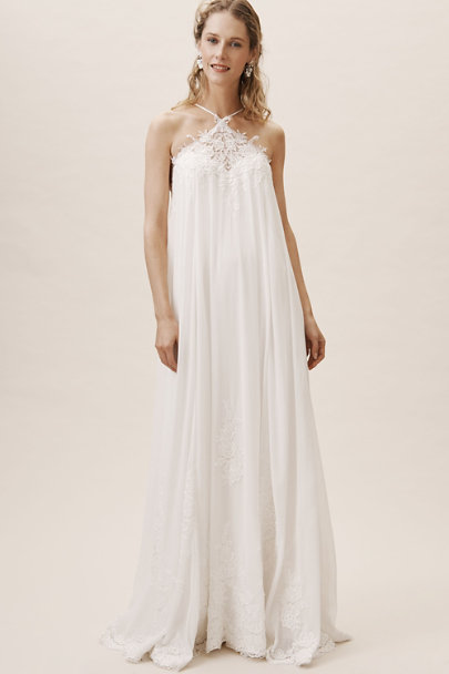 Whispers & Echoes Ivory Arles Gown | BHLDN