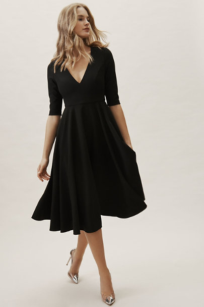 BHLDN Black Valdis Dress | BHLDN