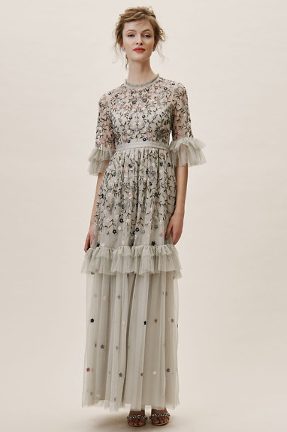 Needle & Thread Faded Mint Jamila Dress | BHLDN
