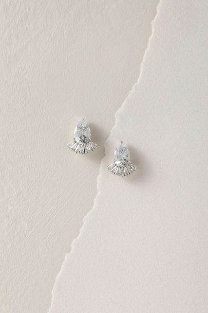 Jardin Silver Rabiah Earrings | BHLDN