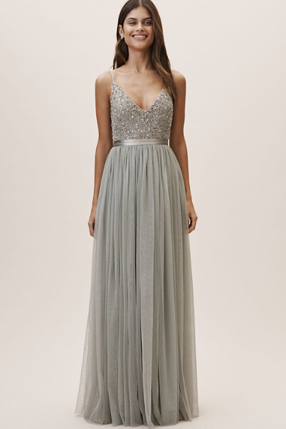 BHLDN Morning Mist Avery Dress | BHLDN