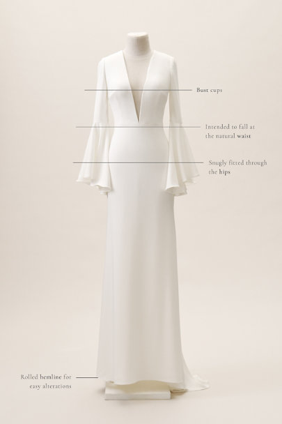 View larger image of Watters Caine Gown