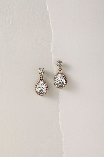 Sorrelli Silver Sarai Drop Earrings | BHLDN