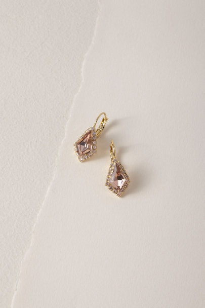 Sorrelli Pink Haldis Drop Earrings | BHLDN