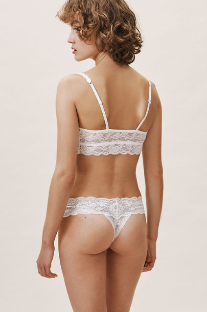 Cosabella White Never Say Never Thong | BHLDN
