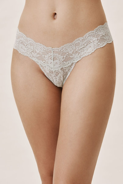 Cosabella Green Never Say Never Thong | BHLDN