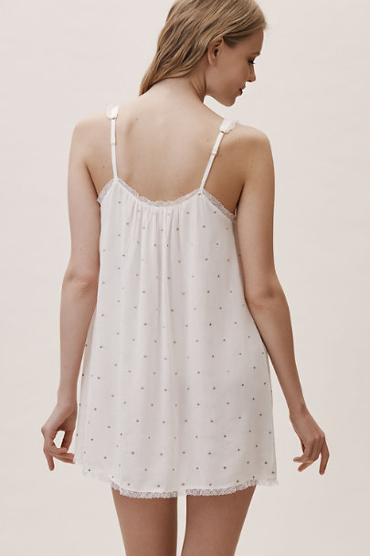 Rya Collection Ivory Golden Chemise | BHLDN