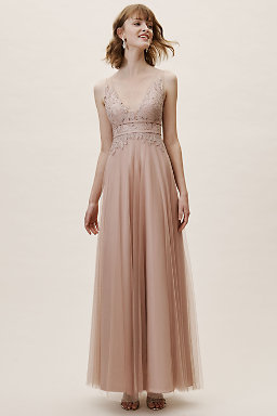 Venosa Dress Blush