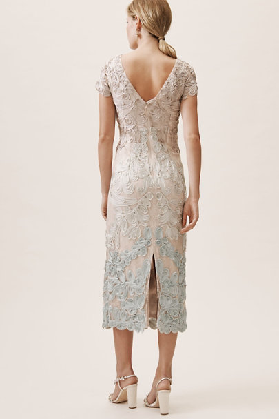 JS Collection Sand Teal Santiago Dress | BHLDN