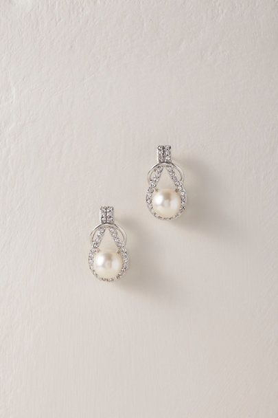 Nina Silver Phoenice Earrings | BHLDN