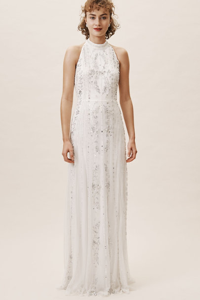 BHLDN Ivory Osborne Dress | BHLDN