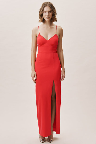 Adrianna Papell Hot Tomato Dominique Dress | BHLDN