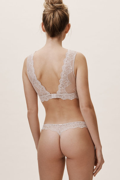 Only Hearts Neutral So Fine Bralette | BHLDN